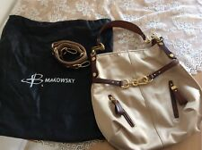 Makowski Beautiful Designers Shoulder Messenger Bag- Fab!