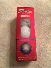 Titleist Golf Balls - Dt Solo Pack of 3 - New - The Feel Good Golf Ball!