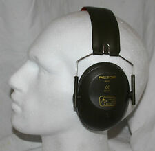 British Army H61FA Peltor Ear defenders  / Amplivox defence protection shooting