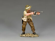 FOB144 British/Gurkha Officer firing Tommy Gun by King and Country