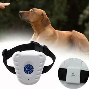Ultrasonic Anti Bark No Shock Dog Stop Barking Trainer ControlTraining Collar