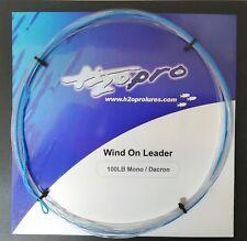 Wind-on-leader H2o Pro Terminale Traina Senza Nodi Fluoro ~ Dacron 100lb