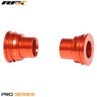 For KTM EXC 250 2T Sixdays 2010 RFX Pro Orange Rear Wheel Spacers