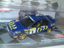 "1/43 SUBARU IMPREZA 555, 1995 MONTE CARLO RALLY ""LIATTI""  IXO/ALTAYA"