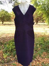 Flirt By Mr K Purple Dress Size 18 Bnwt