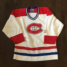 Vintage Montreal Canadiens Starter NHL Jersey Youth Size L/XL
