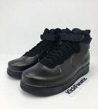 Nike Air Force 1 Foamposite Cup Men's Sz 11 Triple Black AH6771-001 AF1 Sneakers