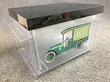 Mid Century Modern Clear Thermo-Serv Covered Antique Ice Man Truck Bucket