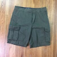 Vintage Nike ACG Cargo Shorts Mens Size 32 Army Green Hiking Trail