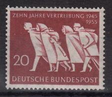 """BRD: ** Mi 215. Marke """"10 Jahre Vertreibung"""" postfrisch ansehen MW 4,- (Q58#1)"""