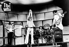 """THE WHO """"CLASSIC SHOT OF 70's BAND IN CONCERT"""" POSTER FROM ASIA - Classic Rock"""
