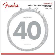 Nickel-Plated Steel LONGSCALE Cordes de Fender pour 4-Saiter E-Bass .040 - .100