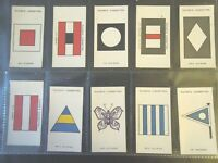 1925 John Player ARMY CORPS & DIVISIONAL SIGNS set 100 cards Tobacco Cigarette