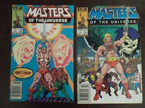 MASTERS OF THE UNIVERSE 1 1986 THE MOTION PICTURE 1 1987 NEWSTAND GRAYSKULL!!