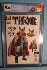 Thor #3 2020 Third Print Design Variant CGC 9.6 Custom Thor Label