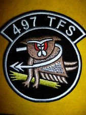 USAF Patch - 497th Tactical Fighter Squadron Patch