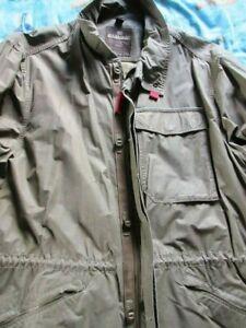 Napapijri Herren Jacke Stone Washed Used Look 70% BW 30% Polyamid Khaki 3XL