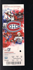 MONTREAL CANADIENS TICKET STUB, 10-13-2010, VS TAMPA BAY LIGHTNING, OPENING GAME