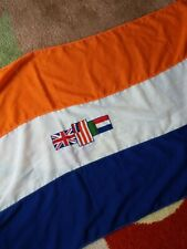 More details for rsa flag, old south african cotton stitched flag 27