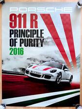 """orginal Porsche Plakat Poster  """"Porsche R """" Reinkultur limitiert auf 991 Stück"""