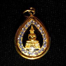 Thai Amulet Phra LP Sothorn Buddha Jewelry Pendant NBA