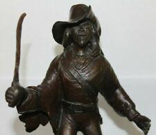 "Tampa Bay Buccaneers Bronze Statue Football Helmet Pirate  12"" Vintage Johnson"