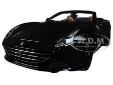 FERRARI CALIFORNIA T OPEN TOP CONVERT BLACK SIGNATURE SERIES 1:18 BBURAGO 16904