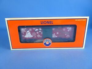 Lionel 6-36296 Happy Holidays 2005 Christmas Boxcar NEW SHIPS FREE. CM