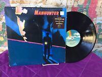 Manhunter Vinyl Lp MCA-6128 *Promo Copy Rare! Movie Motion Picture Soundtrack