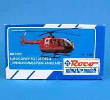 Roco H0 2202 BO 105 CBS-4 IFA Rettungs-Hubschrauber Rot Bausatz HO 1:87