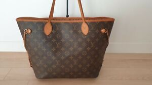 100% Authentic Louis Vuitton Neverfull MM