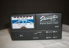 "Fender Squire Model 5006 ""Starcaster"" Digital Quartz Guitar Tuner Guitar & Bass"