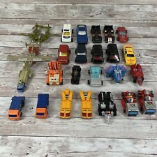 GoBots Lot of 25 from the 1980's - Transforming Robots Vintage