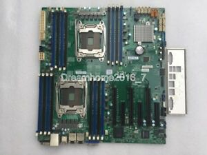 SUPER X10DRi Dual Server Motherboard LGA 2011-V3 Intel C612 VGA COM Without I/O
