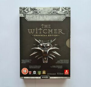The Witcher Enhanced Edition Platinum Edition Game Boxed Guide Complete PC