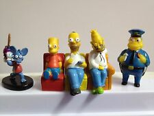 New Lot The Simpsons Action FIgures Homer Simpson 5 pcs