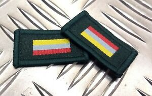 Genuine British Military Small Arm School Corps Flash TRF Badges / Patches ERN28