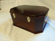 Wooden Pet Casket (Mahogany colored)
