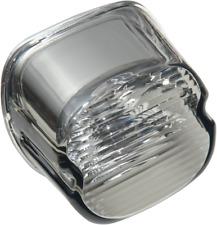 Drag Specialties 2010-0798 Laydown Taillight Lens with No Tag Window Smoke