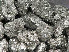 Raw Pyrite Mineral Chunks  x 5 Pieces - Omni New Age