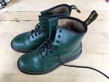 Dr Martens Boots Forest Green Size UK 5 EU 38 slight damage. Cheap