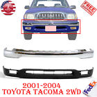 2pcs Front Bumper Face Bar Chrome Lower Valance For 2001-2004 Toyota Tacoma 2wd