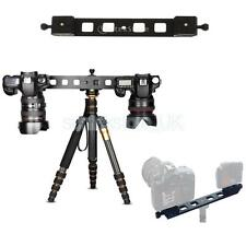 460mm Double QR Quick Release Plate Dual Dovetail Camera Bracket Mount