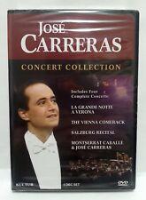 JOSE CARRERAS : CONCERT COLLECTION 4 DVD SET (D4462) 4 COMPLETE CONCERTS '88-'89