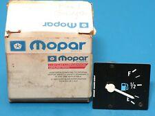NOS Genuine MOPAR Fuel Gas Gauge 1986-1988 Jeep J10 J20 Truck 83502526