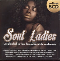 SOUL LADIES VOIX FEMININES DE LA SOUL MUSIC 5 CD COMPILATION NEUF ET SOUS CELLO
