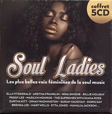 SOUL LADIES VOIX FEMININES DE LA SOUL MUSIC 5 CD COMPILATION NEUF ET SOUS CELLO