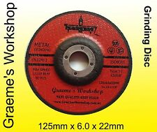 Grinding disc  Wheels.125mm  .Box of 25..only $1.40 each..!