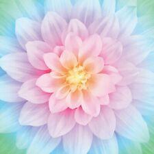 Dream Big Flower- Opal - Hoffman Fabrics-Digital Print