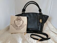 Lauren Ralph Lauren Ashfield Adaline Leather Satchel Bag